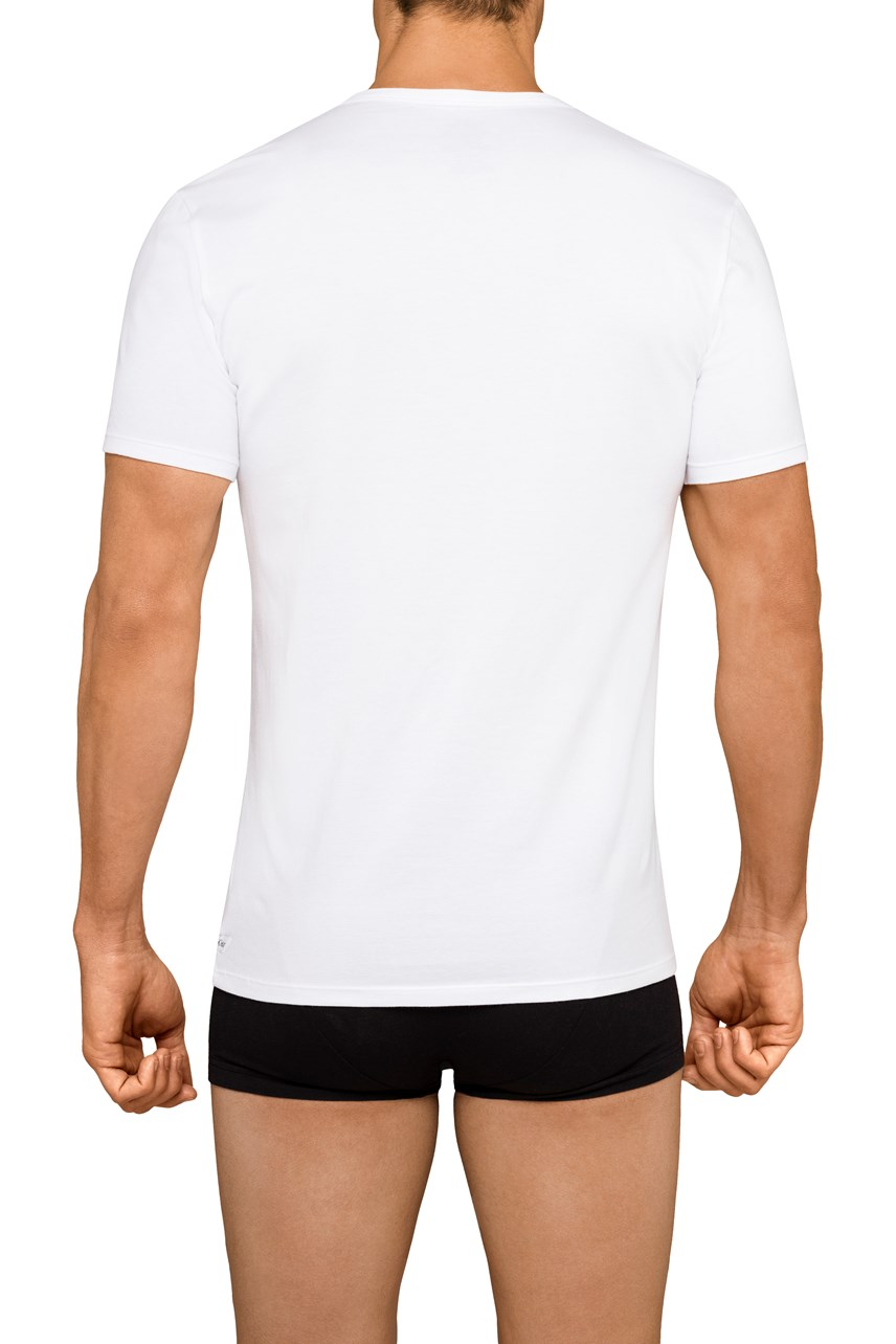 Cotton Stretch V-Neck T-Shirt